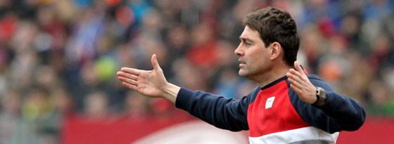 Gewohnt emotional an der Seitenlinie: Club-Coach René Weiler.