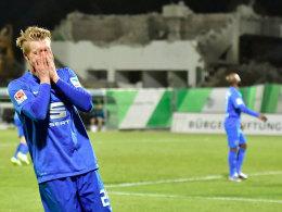 Kann der Eintracht vorerst nicht weiterhelfen: Braunschweigs Maximilian Sauer fällt länger aus.