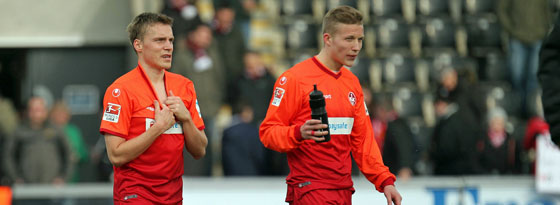Könnten am Dienstagabend mit ihren Nationalteams aufeinandertreffen: Ruben Jenssen (l.) und Alexander Ring.