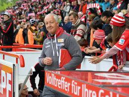 Hofschneider geht als bester Union-Trainer