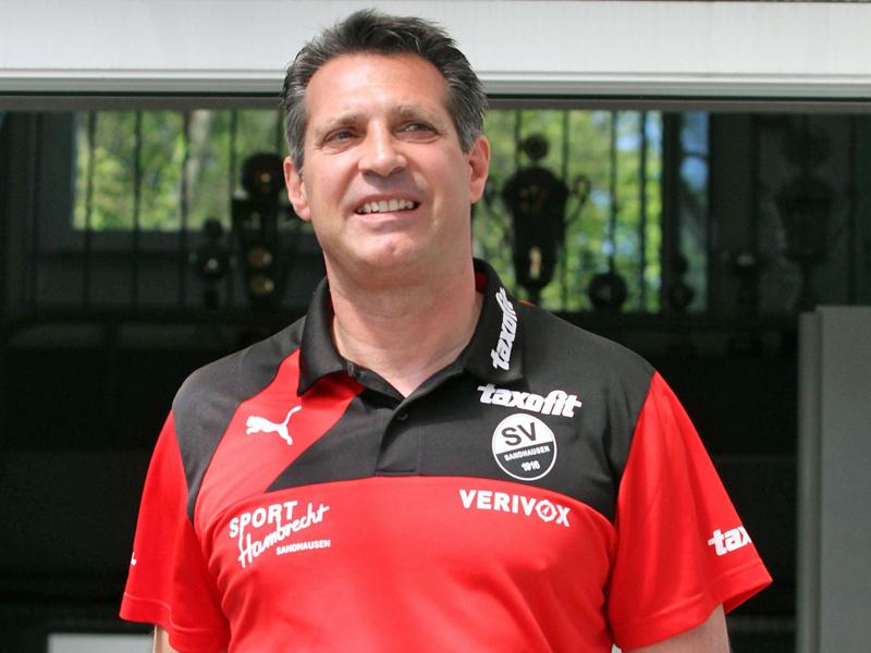 Hat sich entschieden in Sandhausen zu bleiben: Trainer Alois Schwartz.