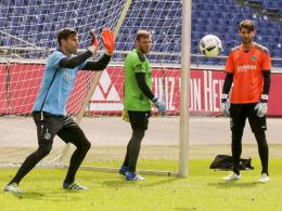 Keeper-Kampf: Tschauner gegen Sahin-Radlinger