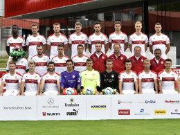 Dié fehlt auf VfB-Mannschaftsfoto