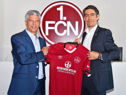FCN: Neues Trikot, neuer Hauptsponsor