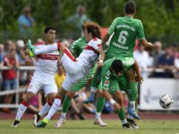 VfB dreht Spiel gegen F�rth - Hosogai deb�tiert