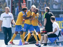 Braunschweig schie�t FCN ab - Actionkrimi auf der Alm