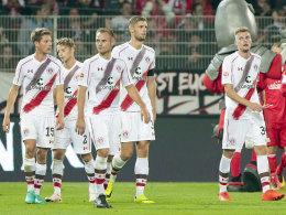 Betretene Mienen: St. Pauli unterlag Union mit 0:2 - und hat nur fünf Punkte nach sieben Spielen.