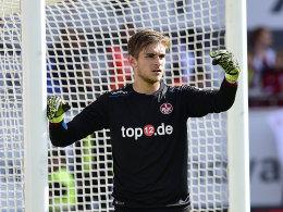 FCK bindet Torwarttalent Pollersbeck
