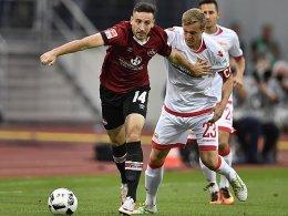 Nürnberg stoppt Union - Dynamo ist aus der Spur
