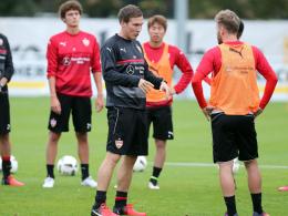 Wolf dünnt den VfB-Kader aus