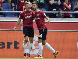 Hannover: Karaman und Klaus in guter Form