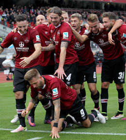 Vierter Sieg in Folge: Nürnberg hat einen Lauf.