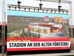 Union Berlin baut die Alte Försterei aus