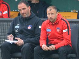 FCH vorerst weiter ohne Coach Schmidt