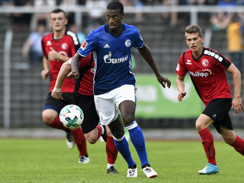 Wright wird von Schalke an Sandhausen ausgeliehen