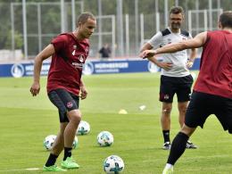 FCN-Coach Köllner tüftelt an der Taktik