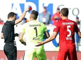 Heidenheim muss in Ingolstadt auf Wittek verzichten