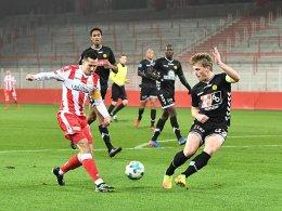 Nur der Jahn gewinnt - Union remis gegen Horsens