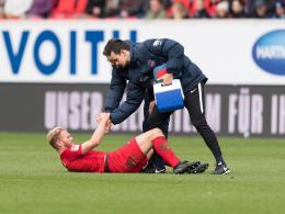 Innenbandverletzung: Griesbeck fällt vorerst aus