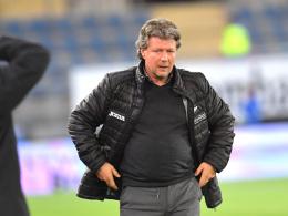 Geldstrafe für Bielefelds Trainer Saibene