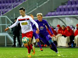 Aue verliert Generalprobe gegen Erfurt