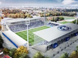 Darmstadt stellt Entwürfe für Stadion-Umbau vor