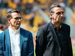 Dynamo verlängert mit Geschäftsführern Minge und Born
