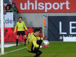 Müller: Erst vergraben, dann pariert