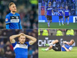 Bielefeld bereitet die Sturm-Flaute Sorgen