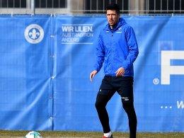 Darmstadt: Medojevic fit - und doch auf der Bank?