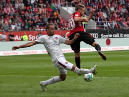 Topspiel in Kiel: Nürnberg droht auch Ewerton-Ausfall
