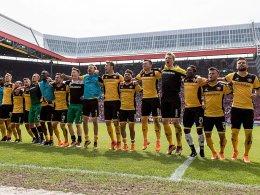 Dynamo präsentiert einen neuen Hauptsponsor