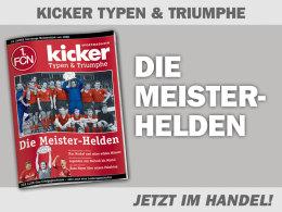50 Jahre Meisterschaft: Nürnbergs Meister-Helden
