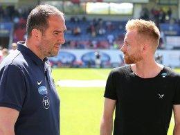 Finale gegen Fürth: Schnatterers Einsatz weiter fraglich