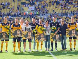 Dynamo verabschiedet sich von sechs Spielern