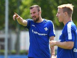 Drei auf Vereinssuche - Großkreutz trainiert in Darmstadt