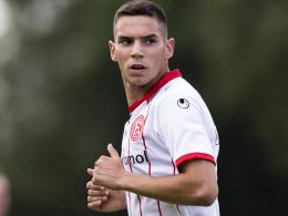 Aue testet Stürmer Majic von Fortuna Düsseldorf