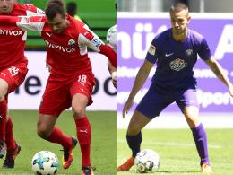 Transfer-Doppelpack: Aue holt Herrmann und Kusic