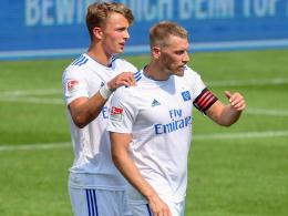 Hunt fehlt dem HSV - Arp trotzdem nicht nominiert