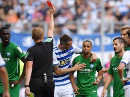 DFB-Sportgericht sperrt Sam für drei Spiele