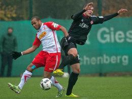 Kickers straucheln im Test gegen Regensburg
