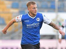 2:1 gegen Legia - Bielefeld macht alle Tore
