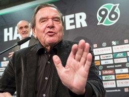 Hannover: Altkanzler Schröder erklärt seinen neuen Job