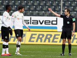 Sandhausen: Kisters Sperre auf drei Spiele reduziert
