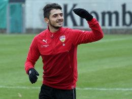 VfB: Zimmermann vor dem Comeback