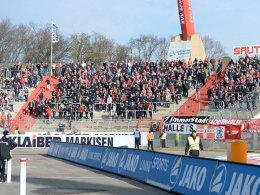 Union-Fans kritisieren Polizeieinsatz in Karlsruhe