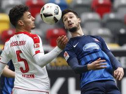 Düsseldorfs Ayhan schwer am Auge verletzt