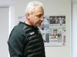 Offiziell: Aue nimmt den Rücktritt Dotchevs an