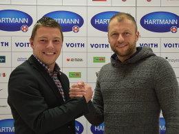 FCH verlängert mit Co-Trainer Gmünder
