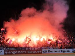 Pyrotechnik im Pokal: Geldstrafe für Bielefeld